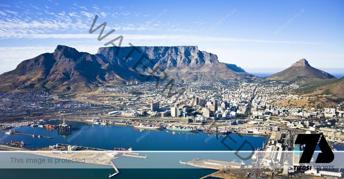 Image of Cape Town Aerial view - Tifosi Sports